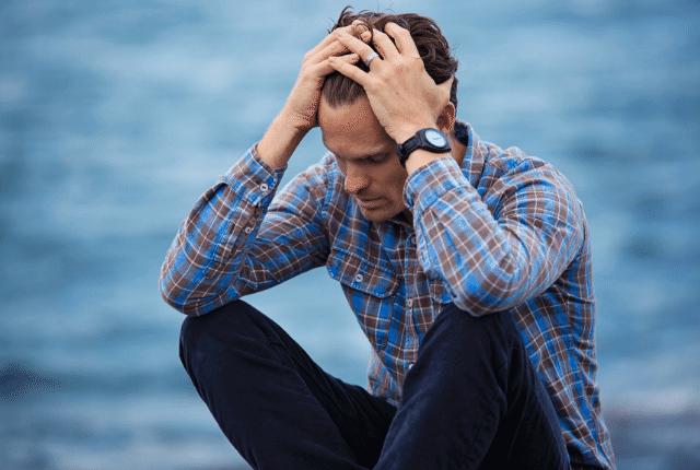 גבר מיואש, חרדות, דיכאון
