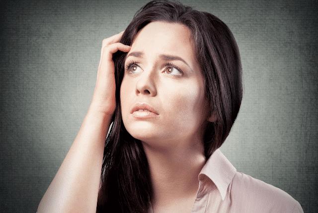 אישה מיואשת, אכזבה, דיכאון,פחדים, חששות, חרדות