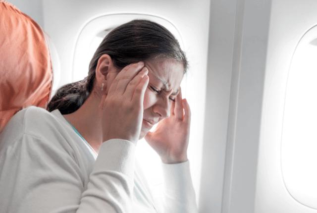 חרדת טיסה, פחד במטוס
