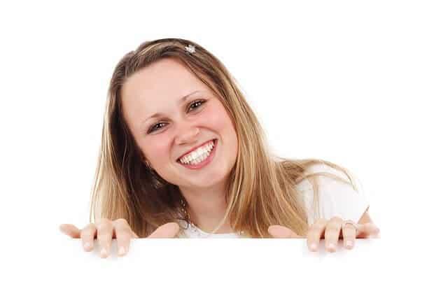 חיוך, אישה, שמחה