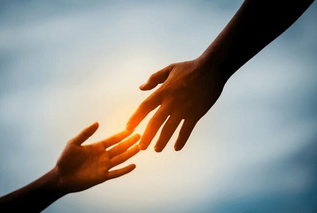 עזרה, סיוע, הושטת יד
