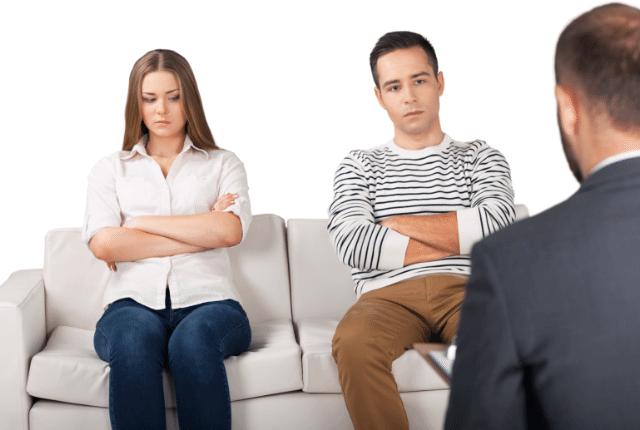 מריבה בין בני זוג, ייעוץ זוגי מקצועי