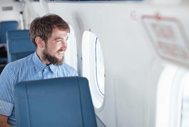 טיסה נעימה, טיסה שקטה, חיוך, מטוס