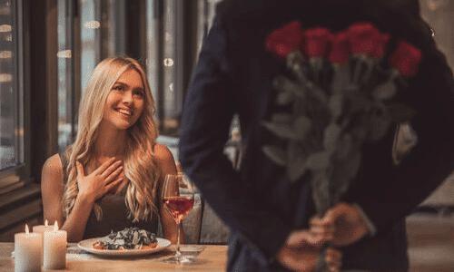 הפתעה, פרחים, אישה, זוגיות