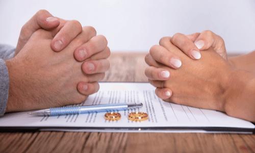 גירושין, כתובה, טבעות נישואין