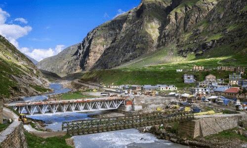 הודו, הרים, נוף, נהר