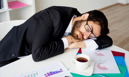 דיכאון עורכי דין, עייפות בעבודה, מותש