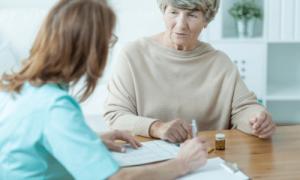 דיכאון זקנה, טיפול אצל רופא, מרשם כדורים