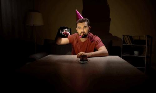 דיכאון יום הולדת, מסיבה עצובה