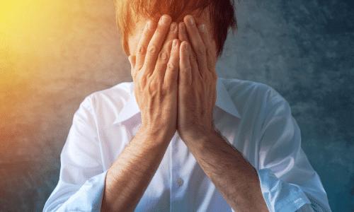 בכי ודיכאון, התפרצות רגשית