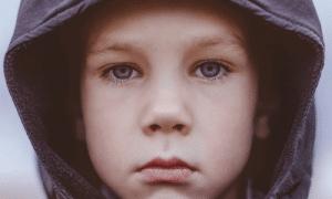דיכאון בגיל 10, ילד עצוב