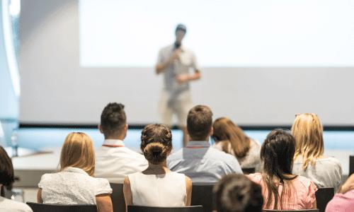 דיבור מול קהל, הרצאה