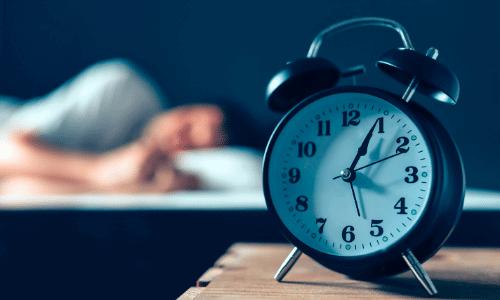 שעון מעורר, שינה
