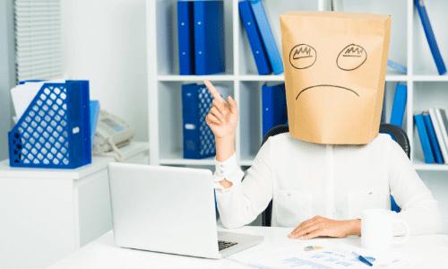 דיכאון בעבודה, דיכאון תסמינים