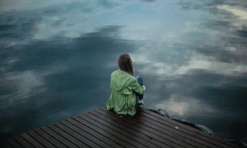 דיכאון, עצב מול הים