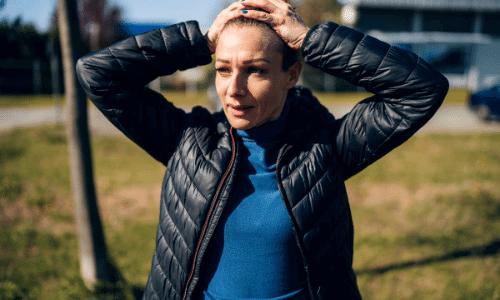 אישה בעת התקפי פאניקה קשים