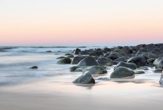 שמיים, ים, הרגעה